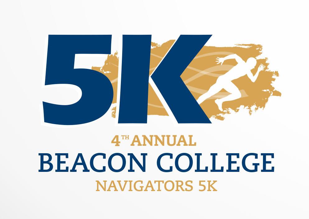 4th Annual Beacon College Navigator 5k Logo
