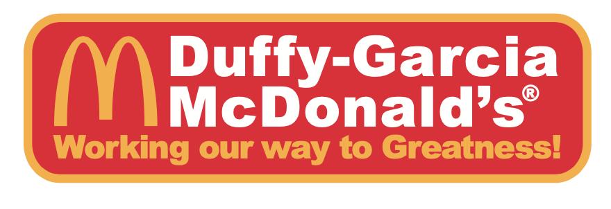 Starlight Sponsor Duffy-Garcis McDonald's