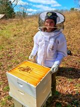 Ranger with Bees