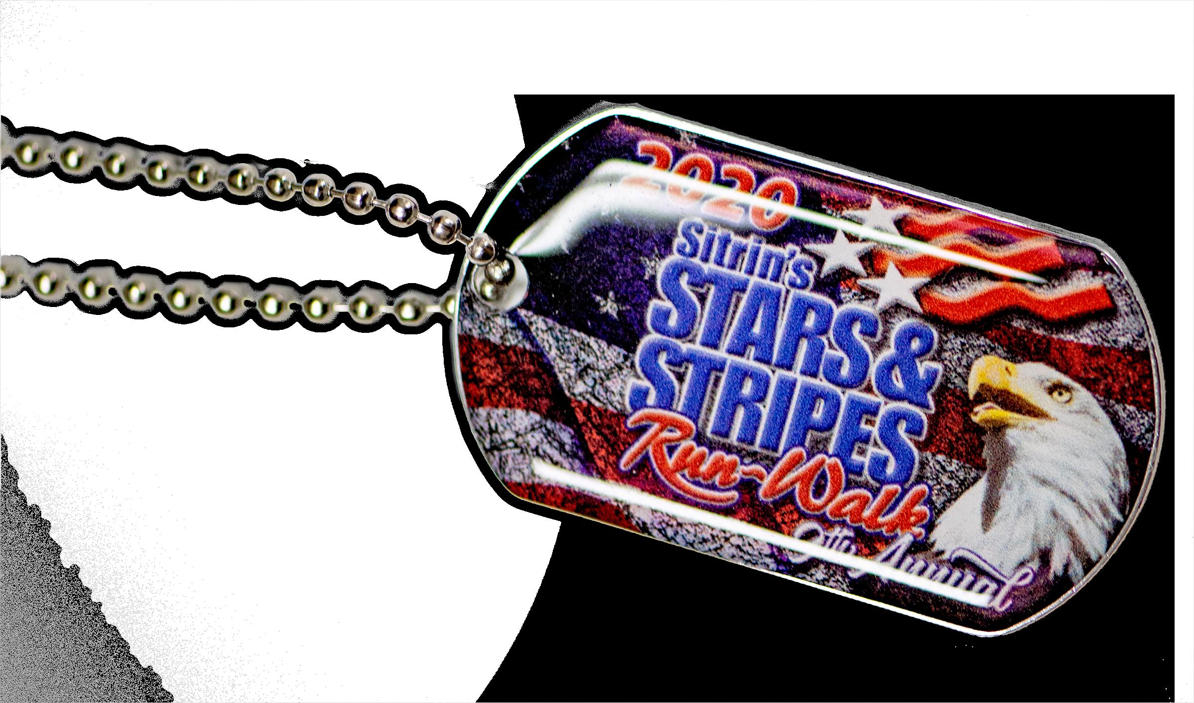 Stars & Stripes Dog Tags-2020