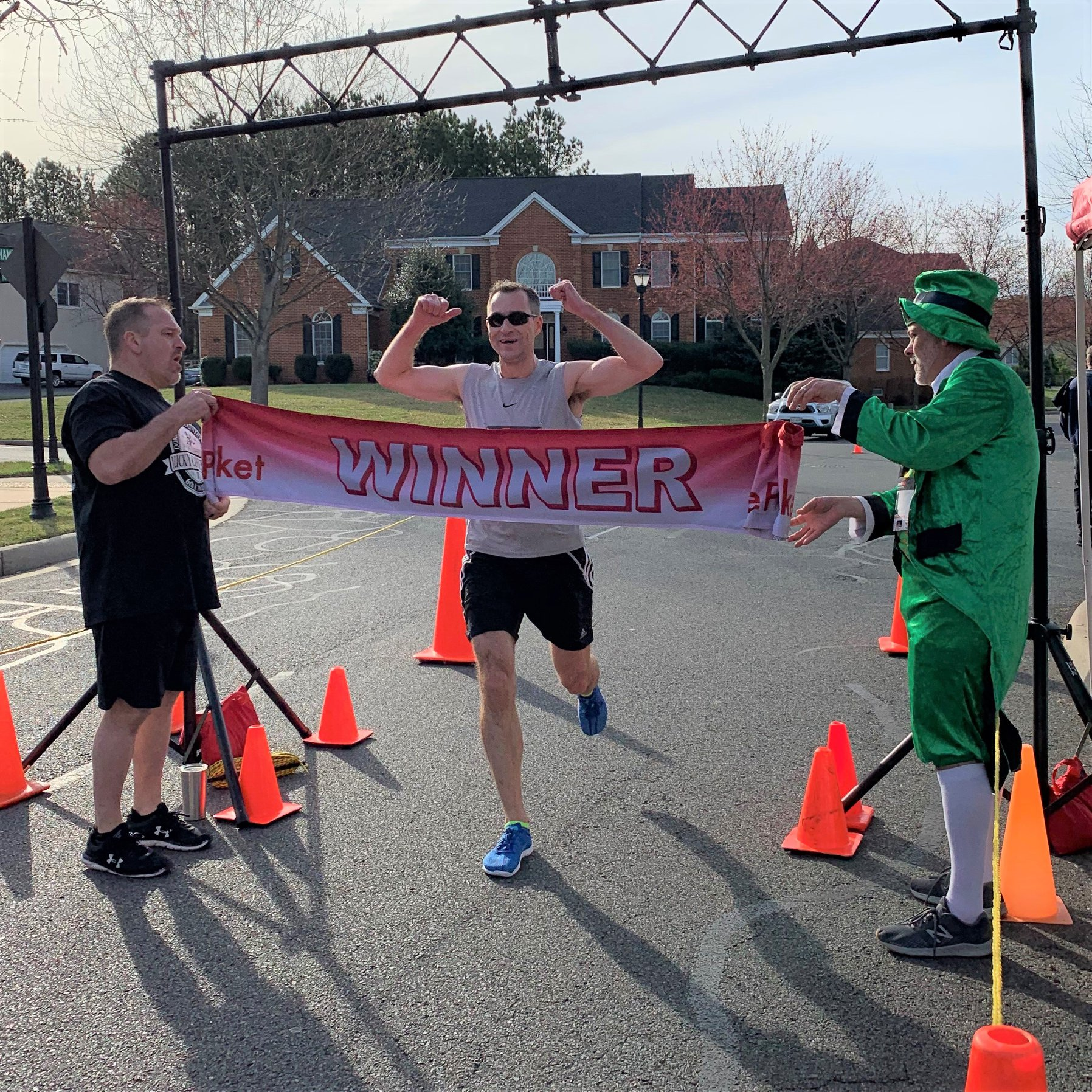 Winner of 2020 Lucky Clover 5k