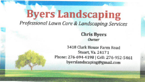 Byers Landscaping