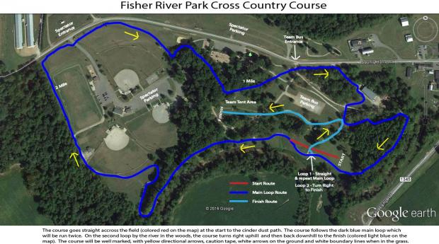 Fisher River Course Map