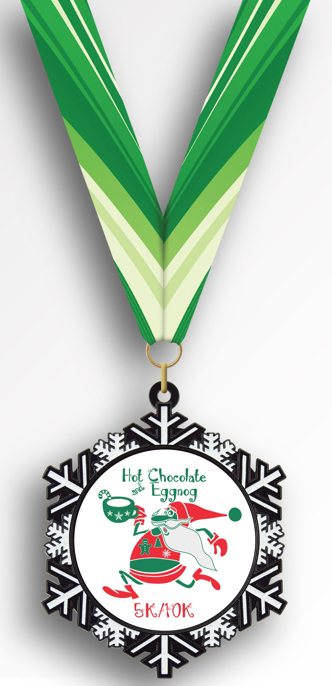 Finishers Medal Hot Chocolate & Eggnog 5k & 10k