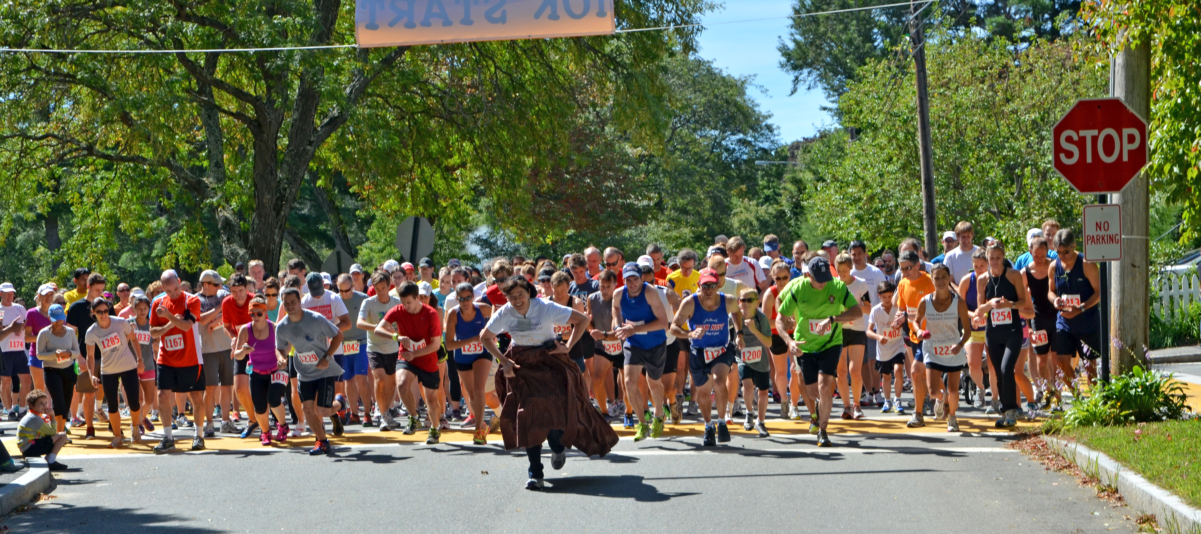 14th Annual Benefit 5K / 10K for Louisa May Alcott's Orchard