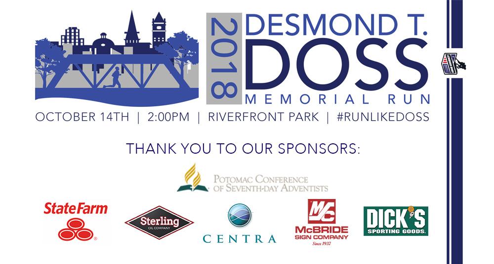 Desmond T Doss Memorial Run In Lynchburg Va Details